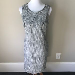 Stylish Talbots woven shift dress